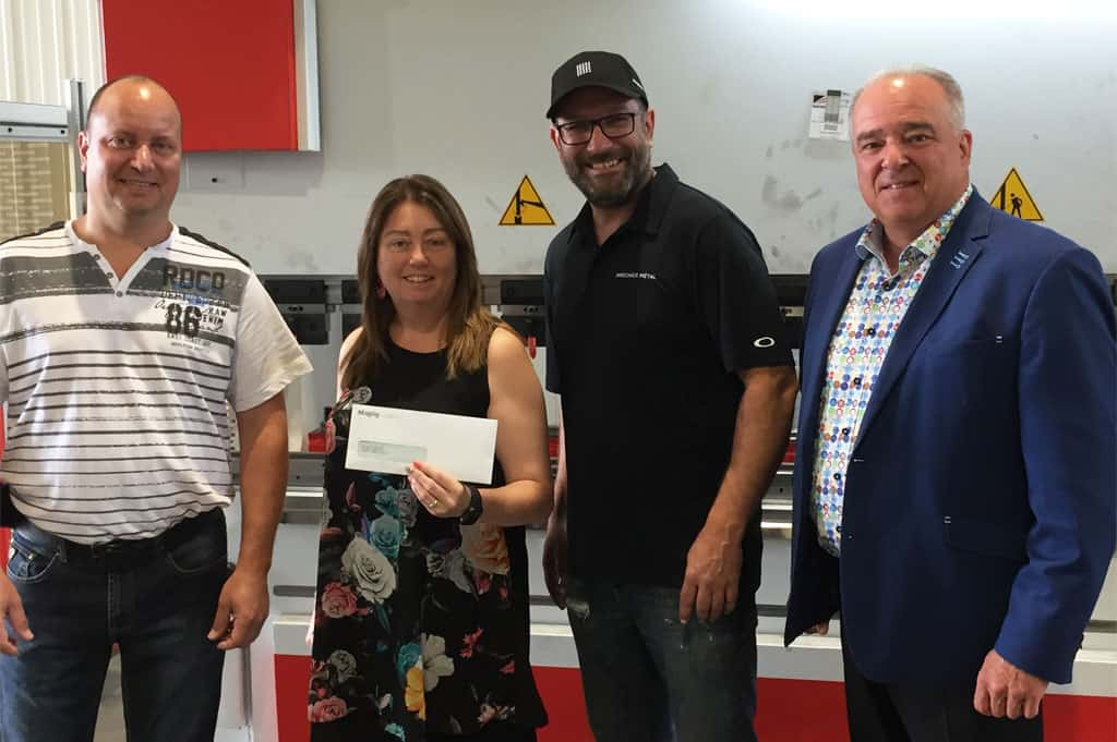 Magog offre une subvention de 5 000 $ à Laser EBP