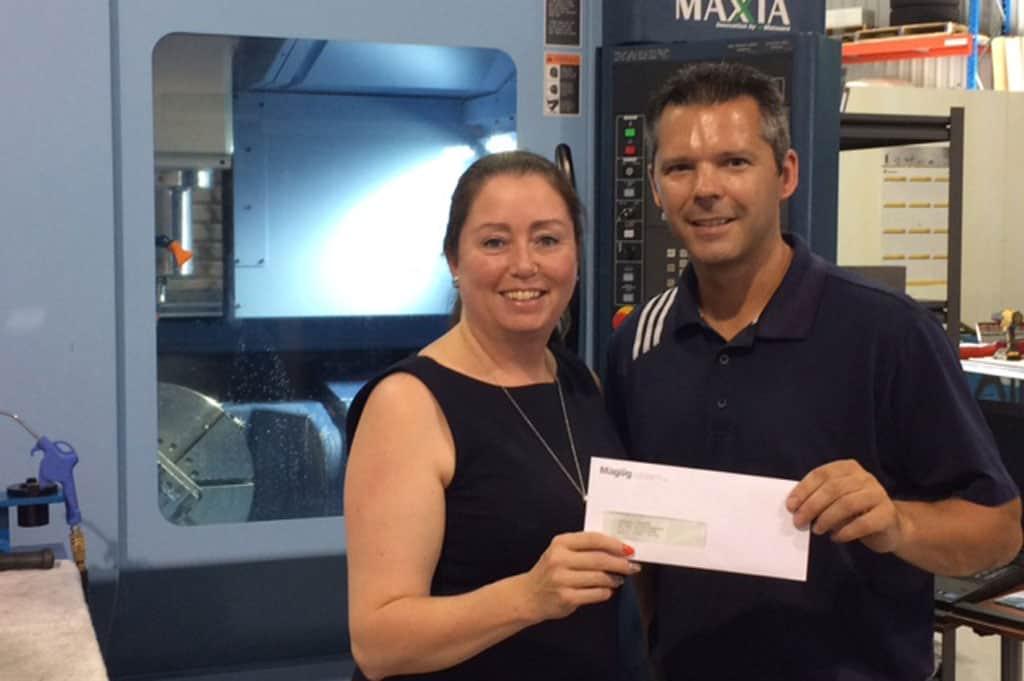 Magog offre une subvention de 30 000 $ à l'entreprise Usinage JV Tech inc.